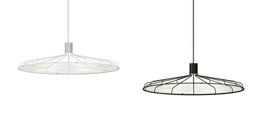 Erakis. Lampe Applique murale & Suspension. Tyvek. JUAM DESIGN STUDIO