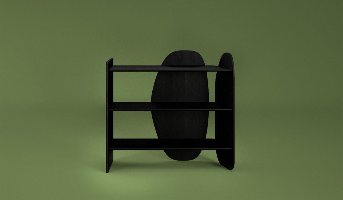 Konbi. etagere. buffet. shelf. bookcase. JUAM. DESIGN. STUDIO.